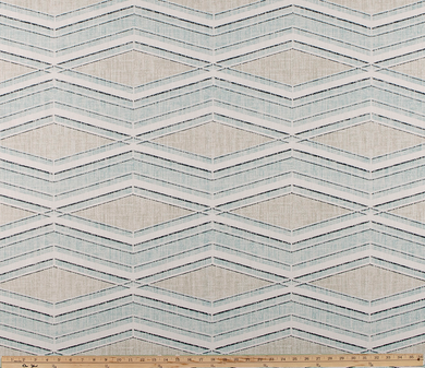 product image of chevron inspired pattern on property brothers fabric