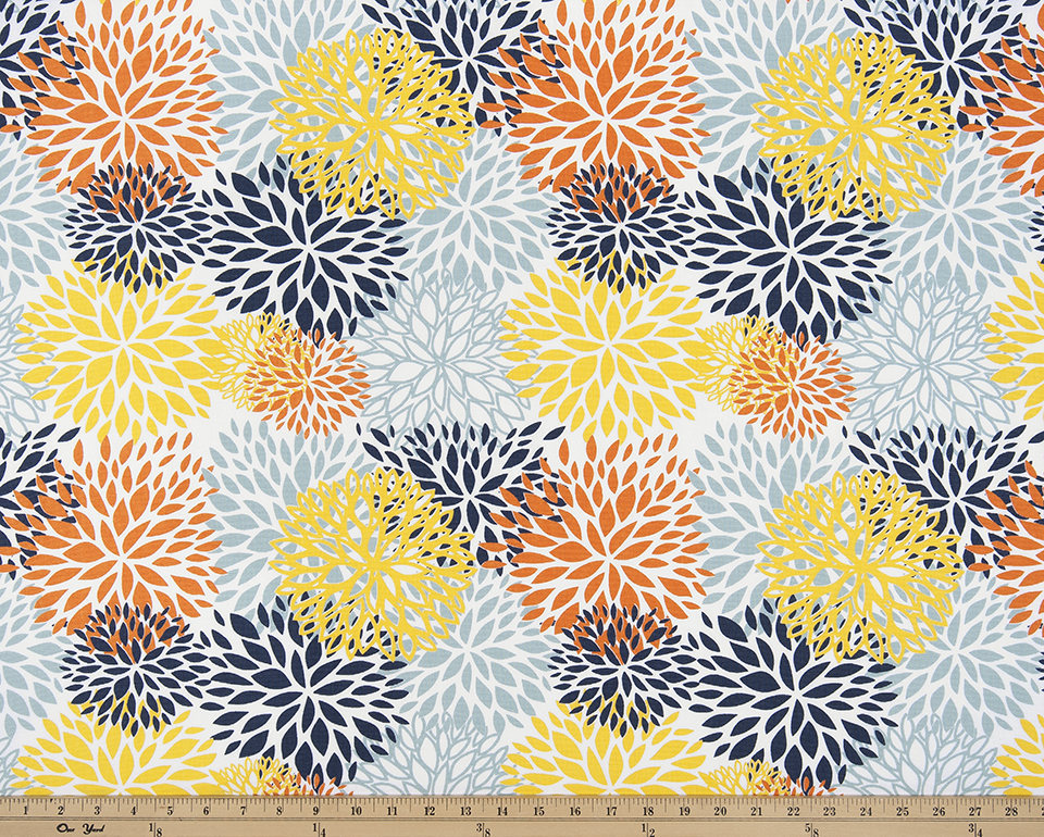 Picture of Blooms Maya Fabric