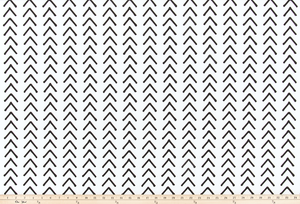 Boho White/Black Fabric By Premier Prints
