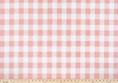 Pink Buffalo Plaid Check Fabric
