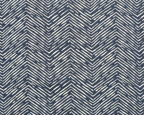 Picture of Cameron Premier Navy Slub Fabric
