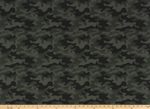 Camouflage Ink Fabric By Premier Prints