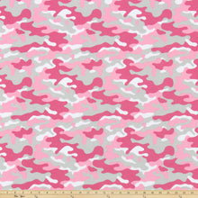 Camouflage Prism Pink Fabric By Premier Prints