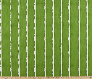 Product photo of stripe pattern on printed fabric by the property brothers.
