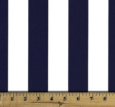 Picture of Vertical Striped Canopy Blue Fabric