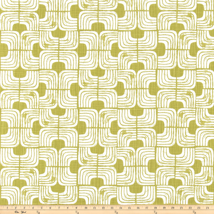 Chisel Pear Slub Canvas Fabric By Premier Prints