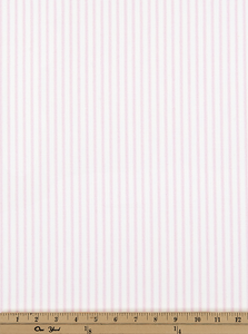 A Picture of Pink Ticking Stripe Fabric Made In The USA