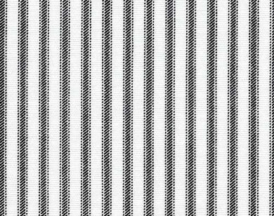 A Photo of a French Black Ticking Stripe Fabric