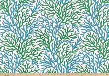 Scott Living - Coral Reef Cool Green Luxe Canvas