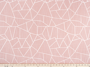 Cut Glass Blush Slub Canvas Fabric By Premier Prints