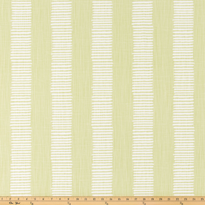 Dash Endive Slub Linen Fabric By Premier Prints