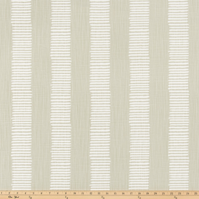 Dash Fog Slub Linen Fabric By Premier Prints