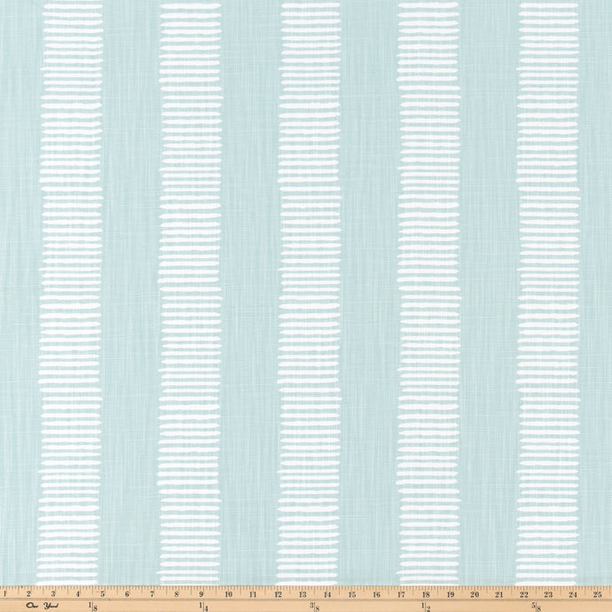 Dash Snowy Slub Linen Fabric By Premier Prints