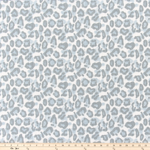 Dayo Mineral Blue Slub Canvas Fabric By Premier Prints