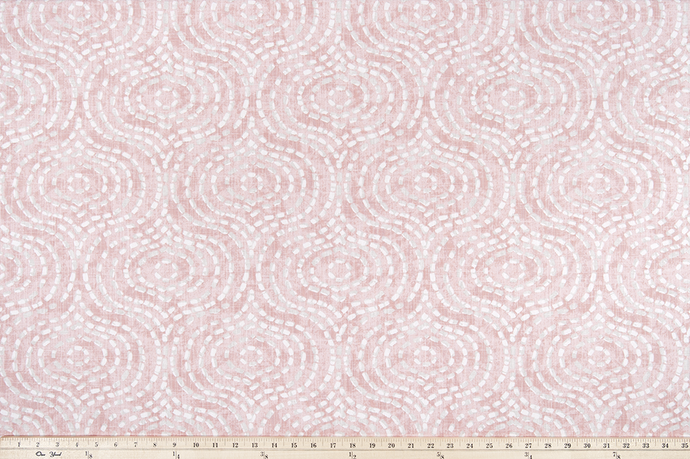 Denver Blush Slub Canvas Fabric By Premier Prints