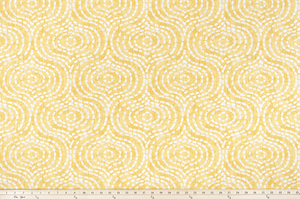 Denver Brazilian Yellow Slub Canvas Fabric By Premier Prints
