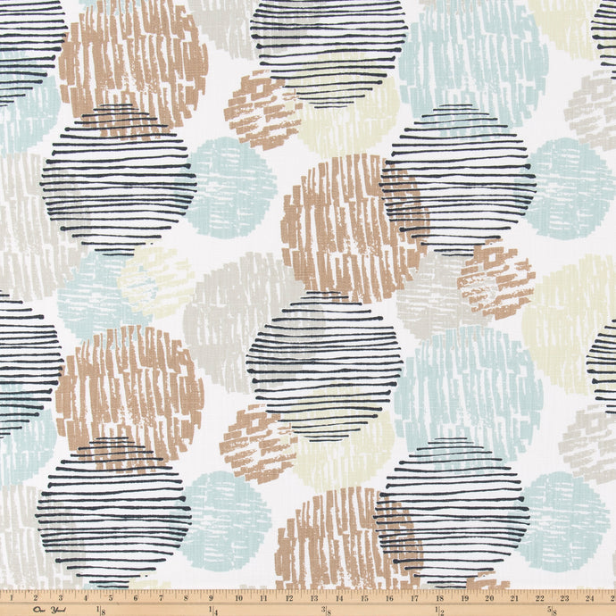 Depth Oasis Slub Linen Fabric By Premier Prints