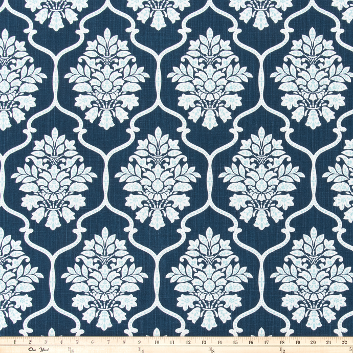 Dreamscape Italian Denim Slub Canvas Fabric By Premier Prints