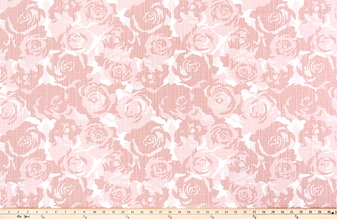 Farrah Blush Slub Canvas Fabric By Premier Prints