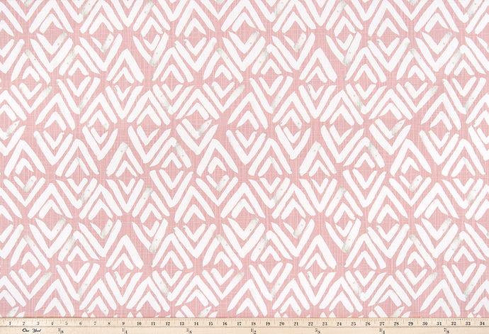 Fearless Blush Slub Canvas Fabric By Premier Prints