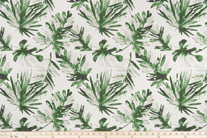 Frond Lubu Flax Fabric By Premier Prints