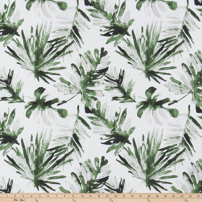 Frond Lubu Slub Canvas Fabric By Premier Prints