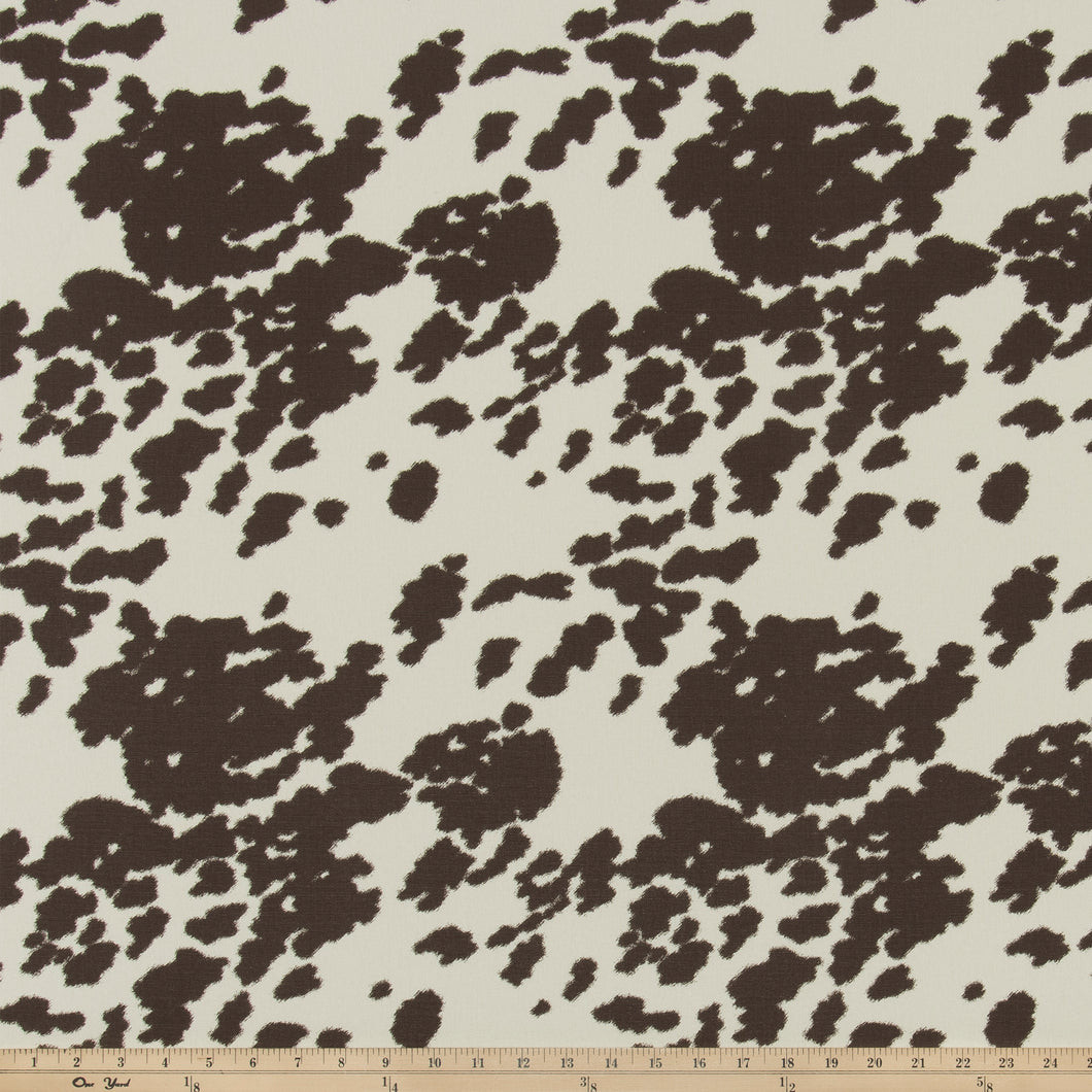 Hide Mocha Macon Fabric By Premier Prints