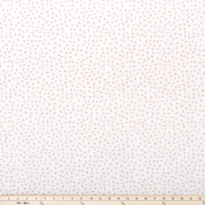 Ira Blush Slub Canvas Fabric By Premier Prints
