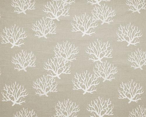 Picture of Coastal Gray Natural Slub Fabric