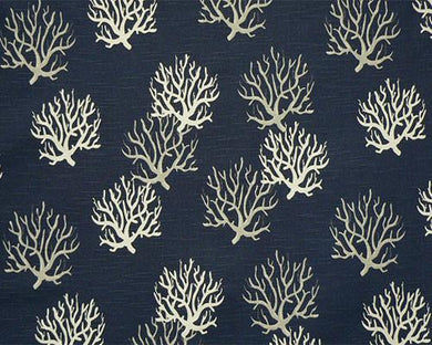 Picture of Isadella Premier Navy Slub Fabric