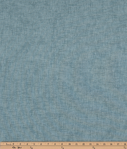 Teal Blue Textured Solid Printed Fabric
