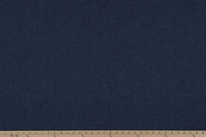 Navy Blue Textured Solid Printed Fabric