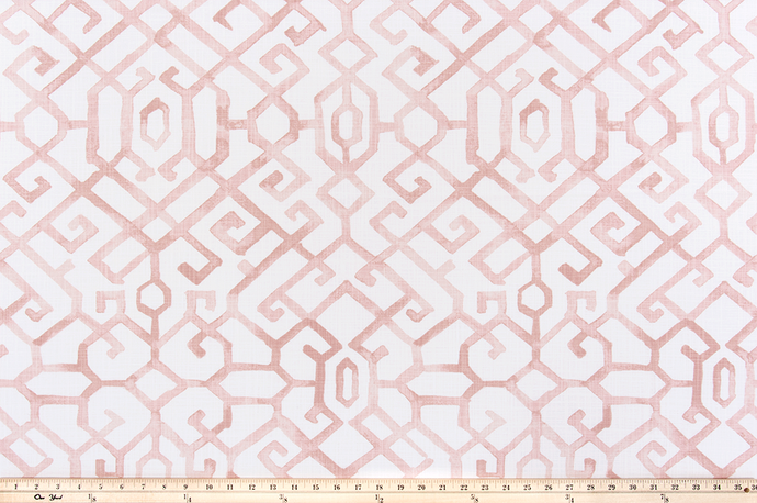 Jing Blush Slub Canvas Fabric By Premier Prints