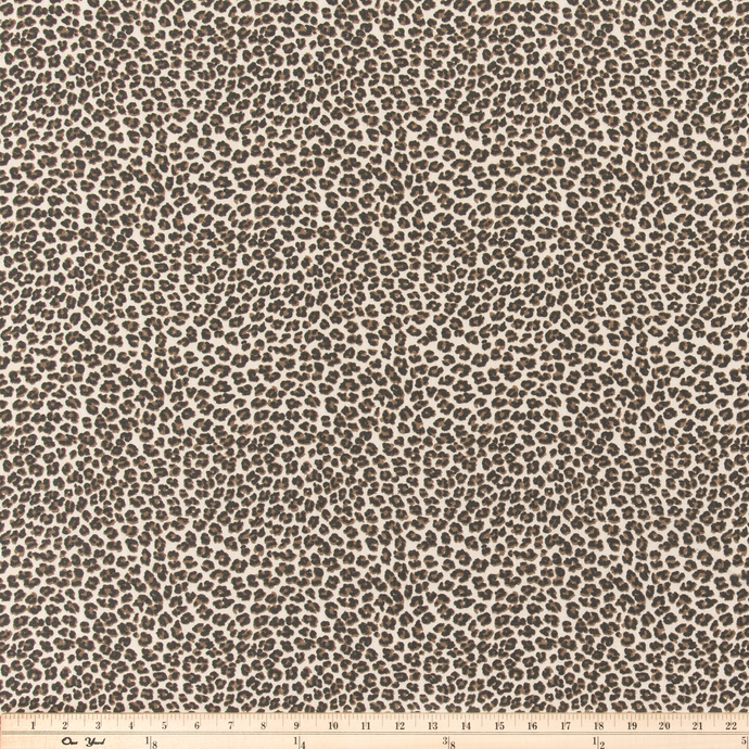 Leopard Topaz Fabric By Premier Prints