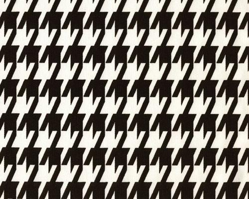 Large Houndstooth Black By Premier Prints