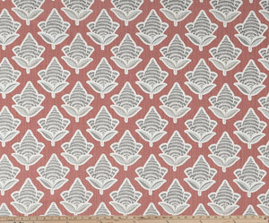 Makoto Scarlet Slub Canvas Fabric By Premier Prints