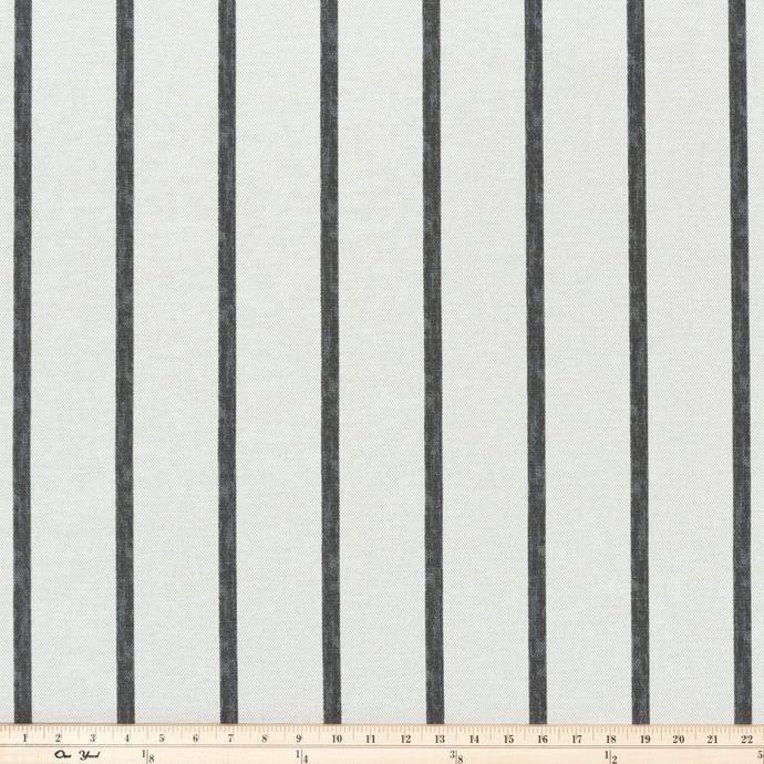 photo of striped fabric