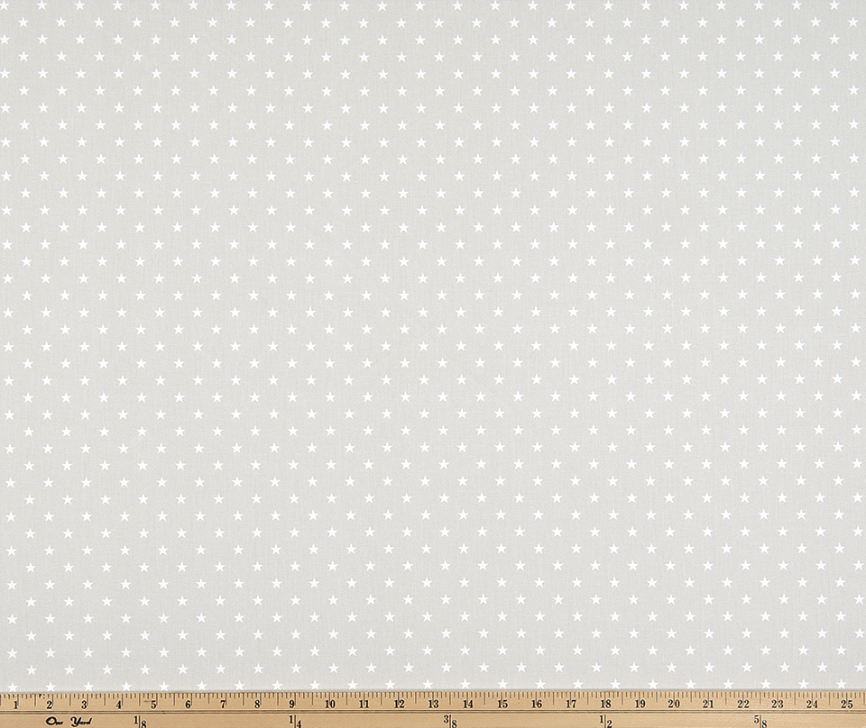 Mini Star French Grey Twill