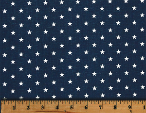Picture of Mini Star Fabric Blue