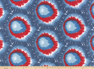 Mod Tie Dyed Freedom Fabric By Premier Prints