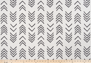 picture of native tribal arrow pattern printed fabric