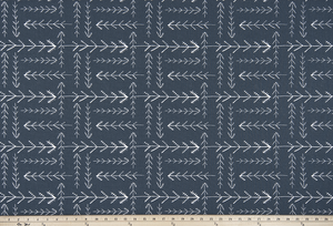Native Spruce Blue Fabric By Premier Prints
