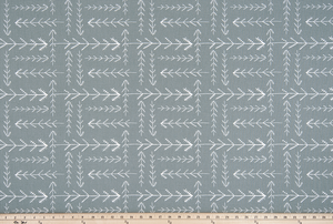 Native Sundown Grey Fabric By Premier Prints
