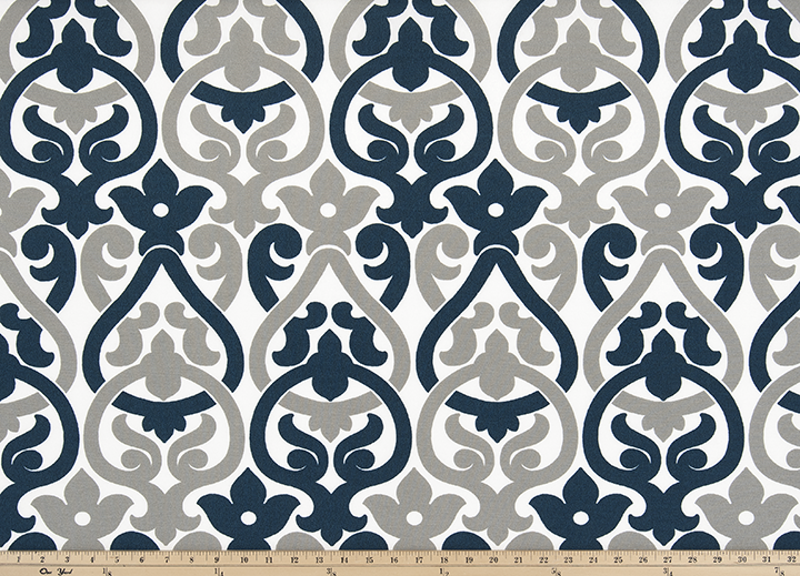 Outdoor Fabric - Alex Oxford Grey