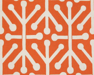 Outdoor Fabric - Aruba Orange