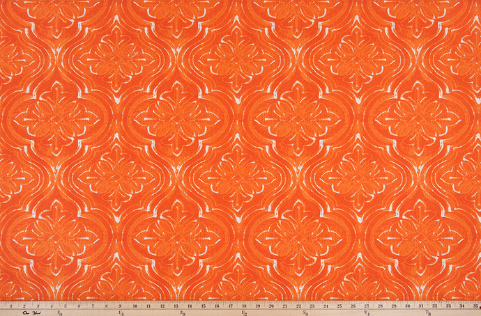Outdoor Fabric - Atlantic Marmalade Polyester Fabric By Premier Prints