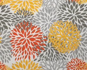 Picture of Blooms Citrus Fabric