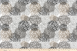 Outdoor Fabric - Blooms Matte Fabric By Premier Prints