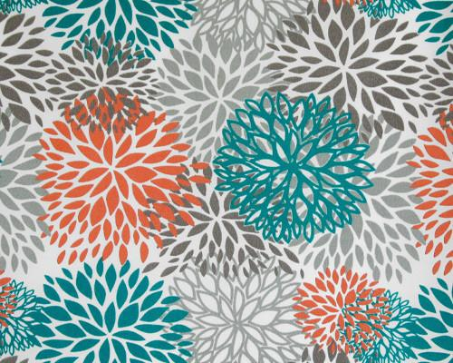 Picture of Outdoor Blooms Pacific Fabric