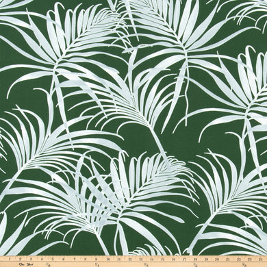 Outdoor Fabric - Cabrillo Tropic Green By Premier Prints